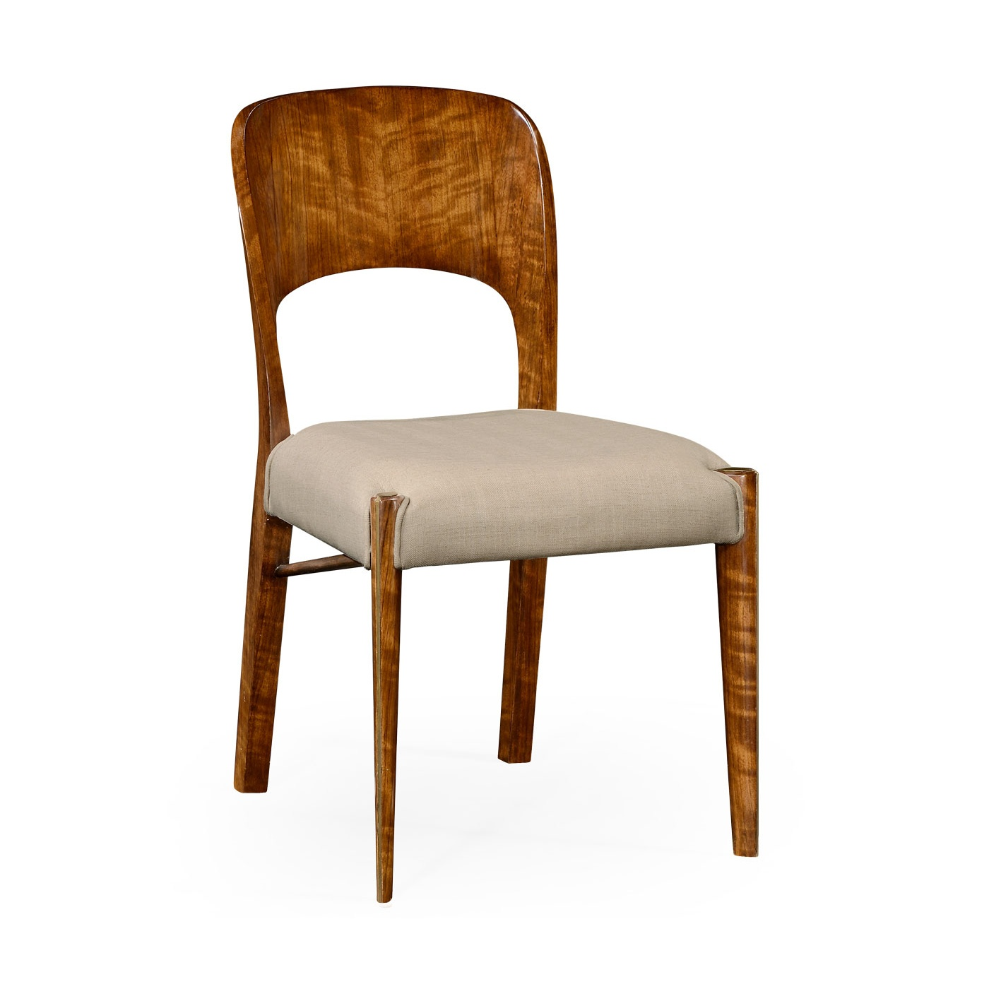 Art Deco Dining Chair 1950 39 S Side Chair Swanky Interiors