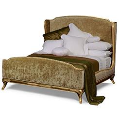 Designer Velvet Bed