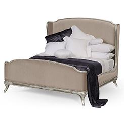 Designer Silver Bed