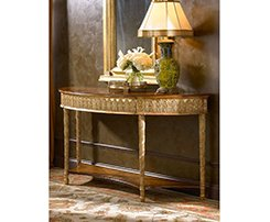Gilded Console Table by Jonathan Charles