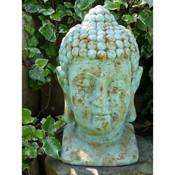 Buddha Head Buddha Garden Statue Swanky Interiors