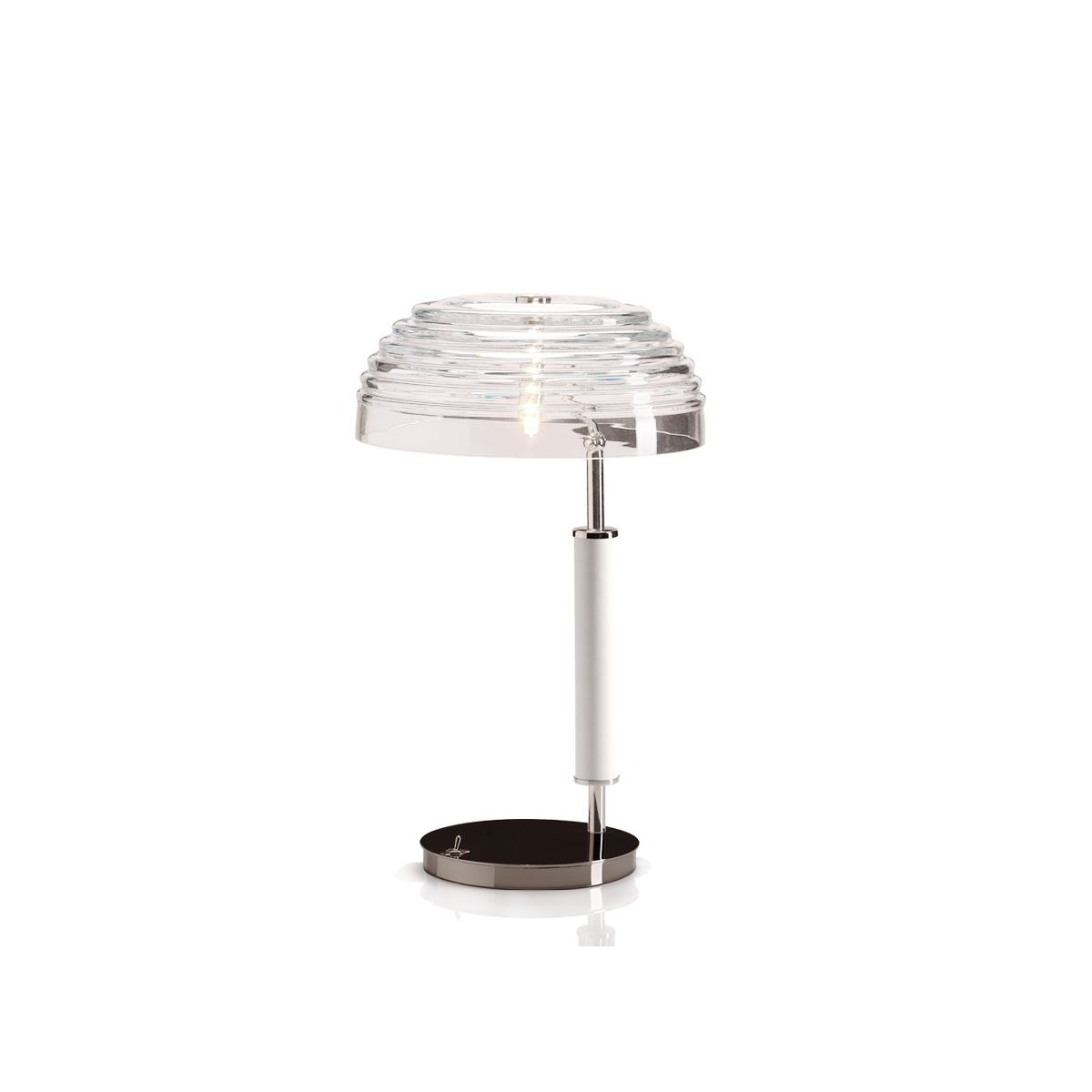 Art deco table lamp nina swanky interiors villa lumi lighting art deco table lamp nina geotapseo Gallery