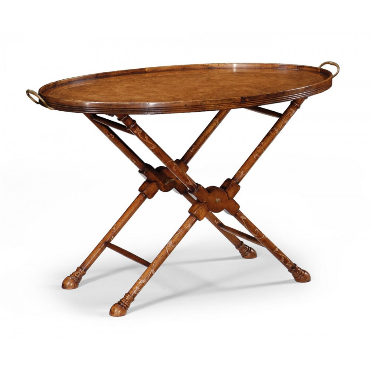 Jonathan Charles Furniture Walnut Tray Table/Butler Tray ...
