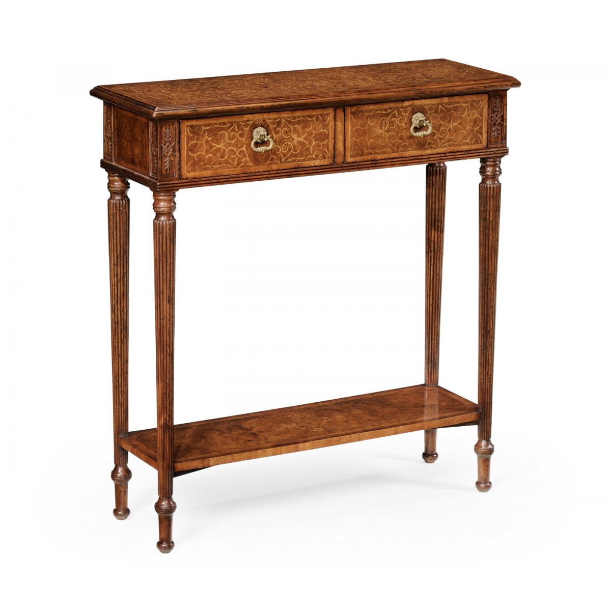 Jonathan Charles Furniture Small Narrow Console Table ...