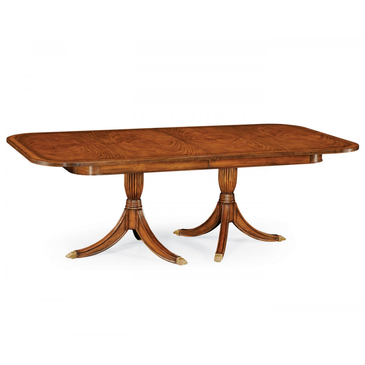 8 12 seater walnut extending dining table swanky interiors