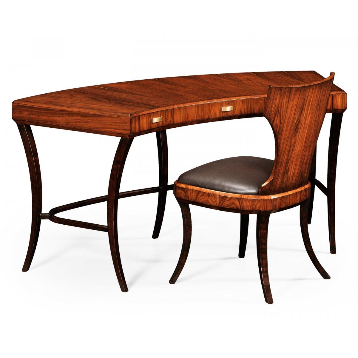 Art deco luxury office desk swanky interiors - Luxury office desk ...