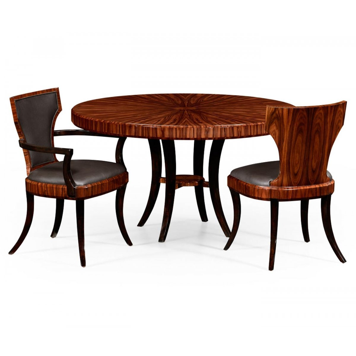 6 seater round dining table swanky interiors - Seater dining tables ...