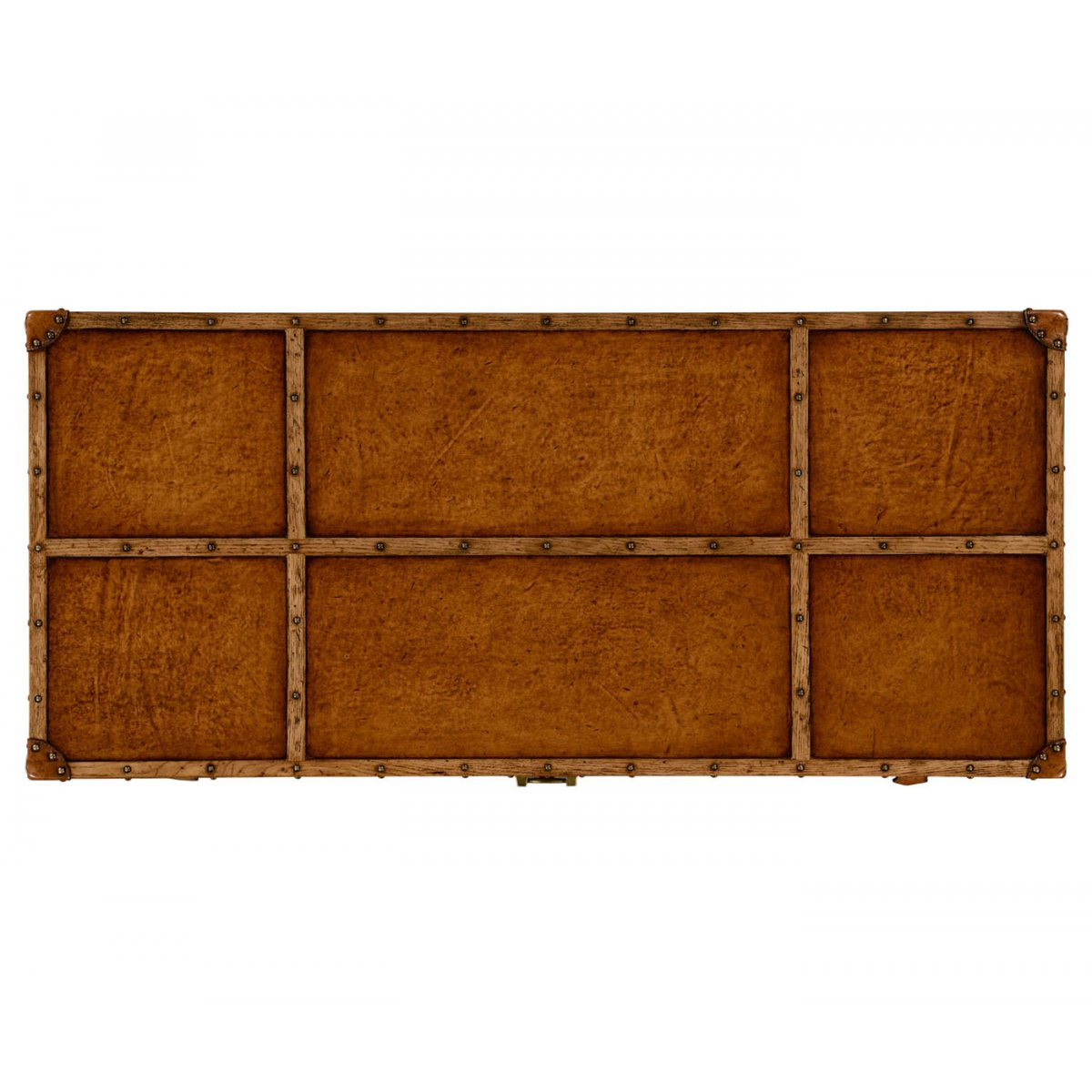 travel trunk leather chest of drawers swanky interiors