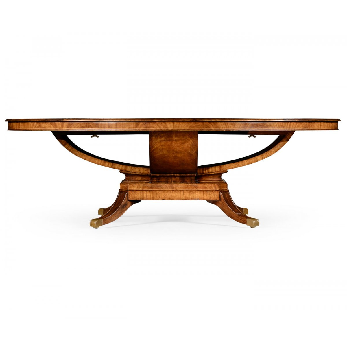 buy 8 seater oval dining table walnut swanky interiors