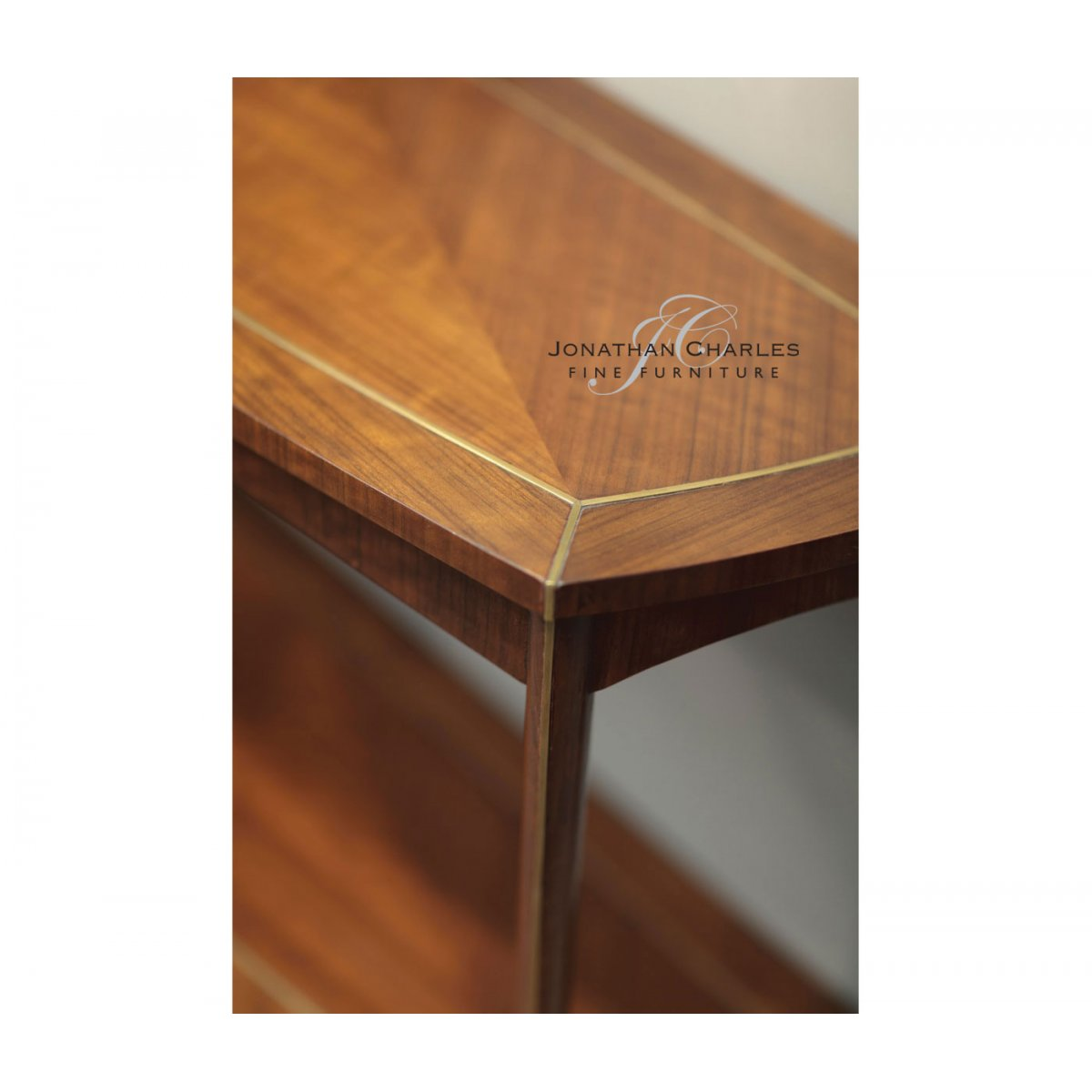 Fantastic Jonathan Charles Furniture Narrow Console Table With Shelf Unemploymentrelief Wooden Chair Designs For Living Room Unemploymentrelieforg