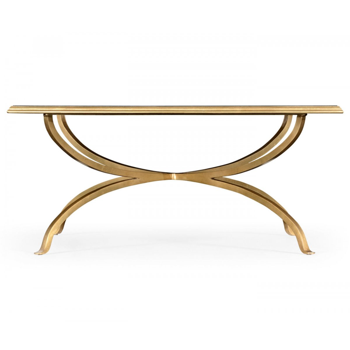 Gold Coffee Table Uk: French Glass Square Coffee Table, Gold