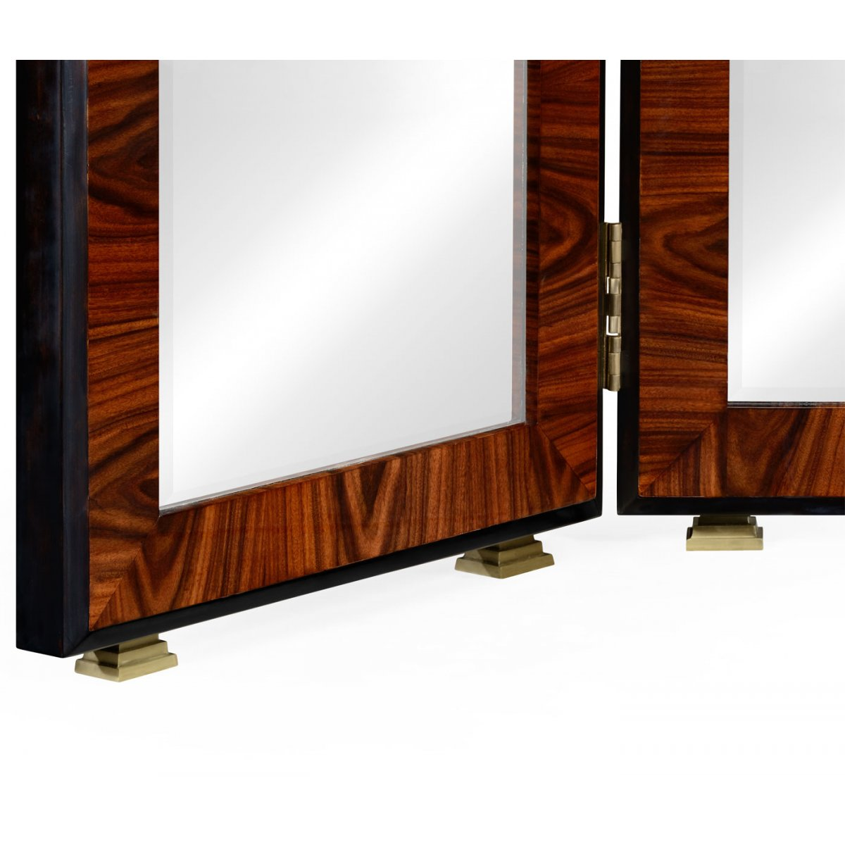 furniture art deco style. Jonathan Charles Furniture Art Deco Style Full Length Triple Dressing Mirror, High Lustre