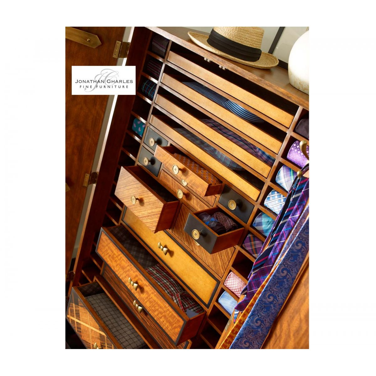 ... Alexander Julian Furniture Tartan Haberdashery Cabinet Chest ...