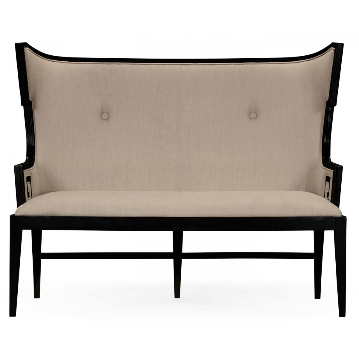 Upholstered Dining Bench Settee Swanky Interiors