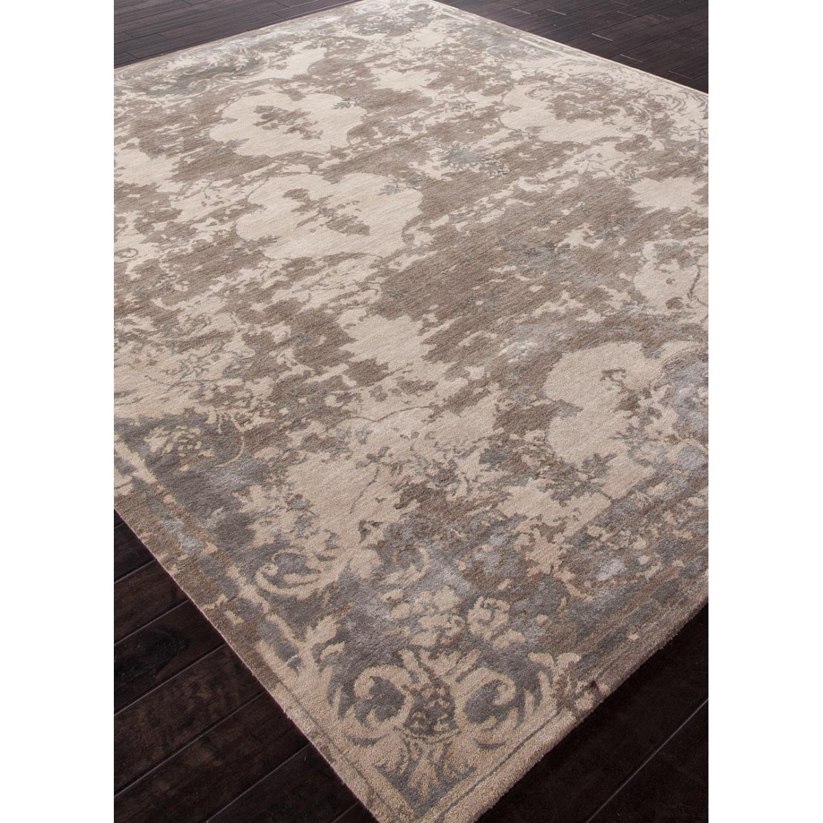 Designer Rug Versailles Taupe Wool Amp Silk French Style