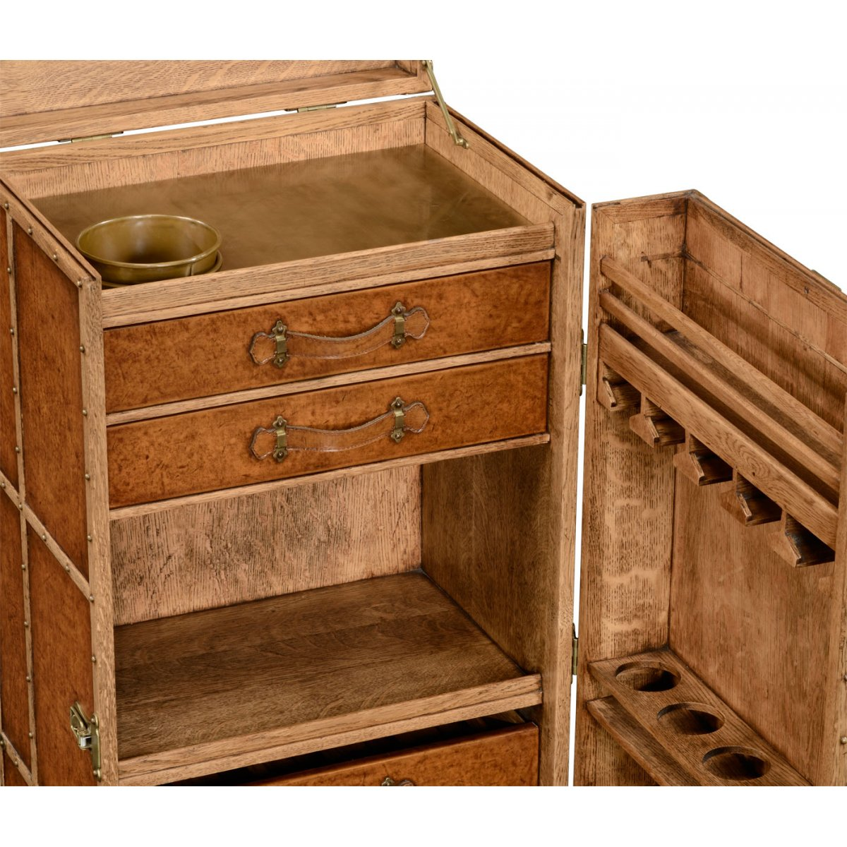 Drinks Cabinet In Travel Trunk Style