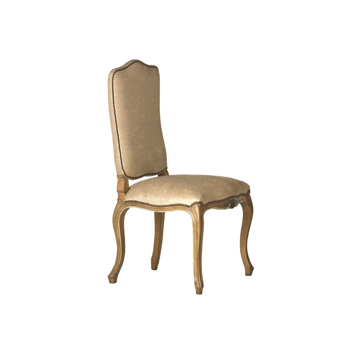 Luxury upholstered dining chair swanky interiors for Dining room upholstered chairs