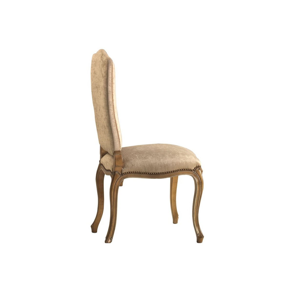 Luxury upholstered dining chair swanky interiors for Dining chairs with upholstered seats
