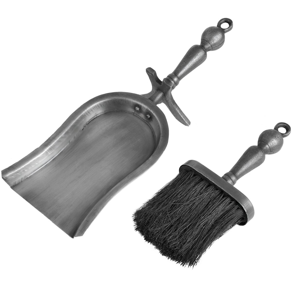 silver hearth tidy set shovel brush set swanky interiors rh swankyinteriors co uk