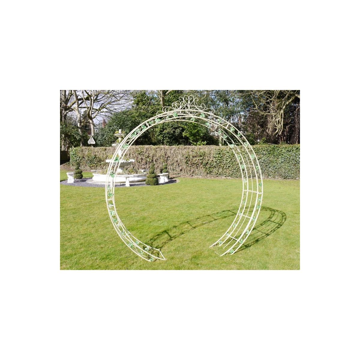 Metal Garden Arch Round Swanky Interiors : 1447324895 93374700 from swankyinteriors.co.uk size 1200 x 1200 jpeg 360kB