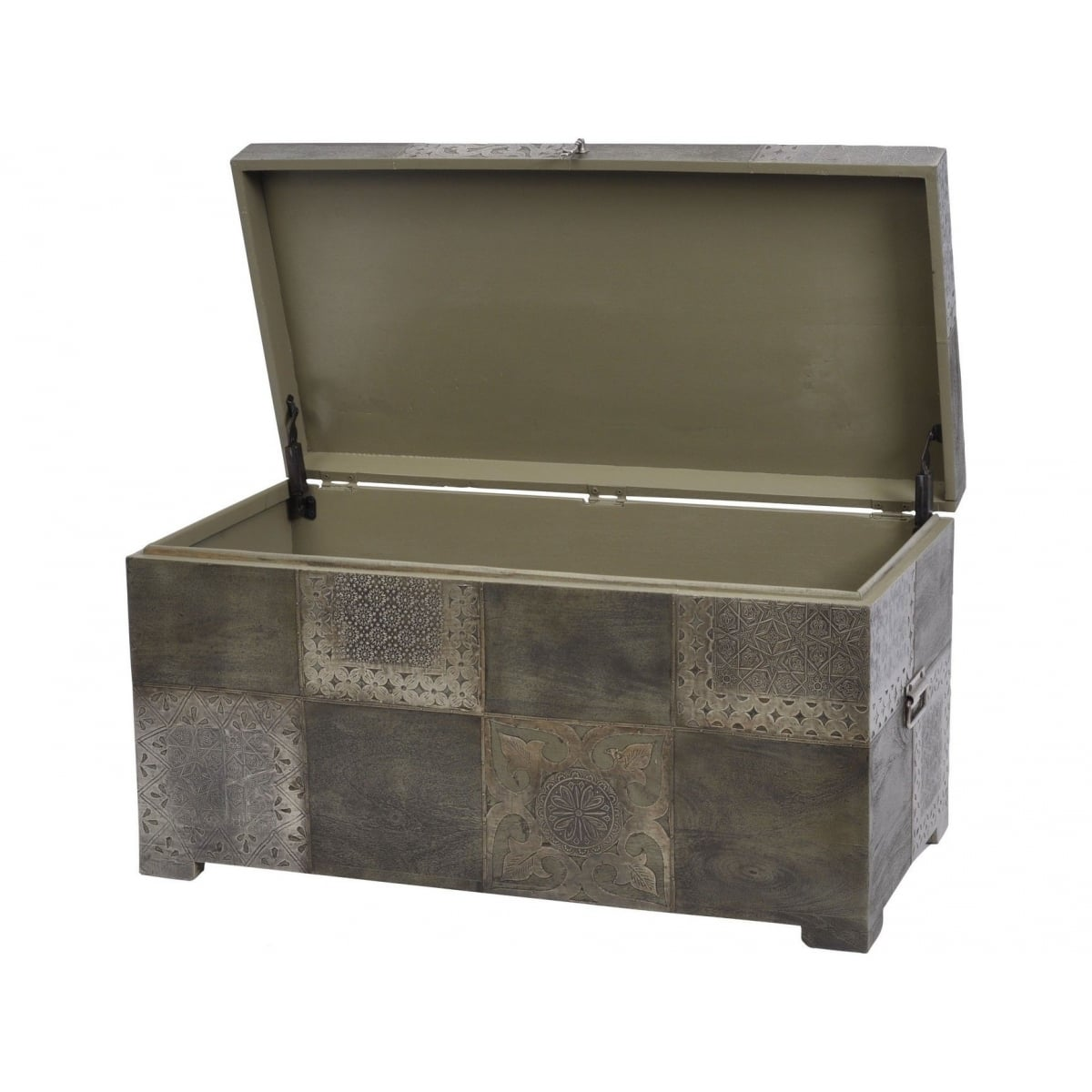 Storage trunk storage coffee table swanky interiors Coffee table chest with storage