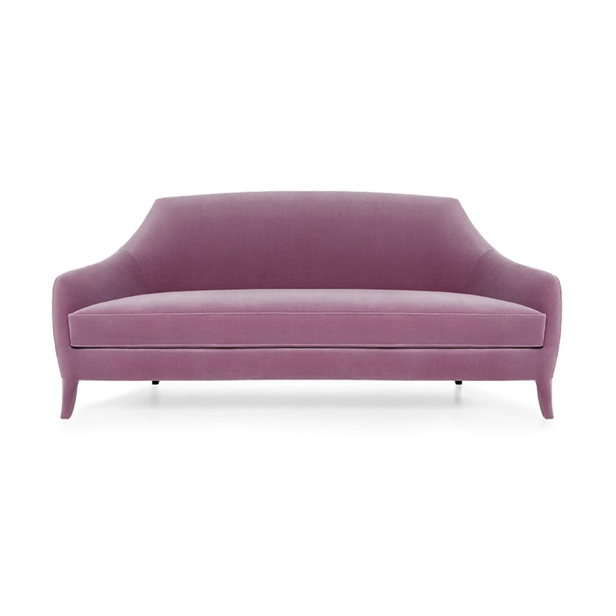 designer sofa purple sofa margaret swanky interiors