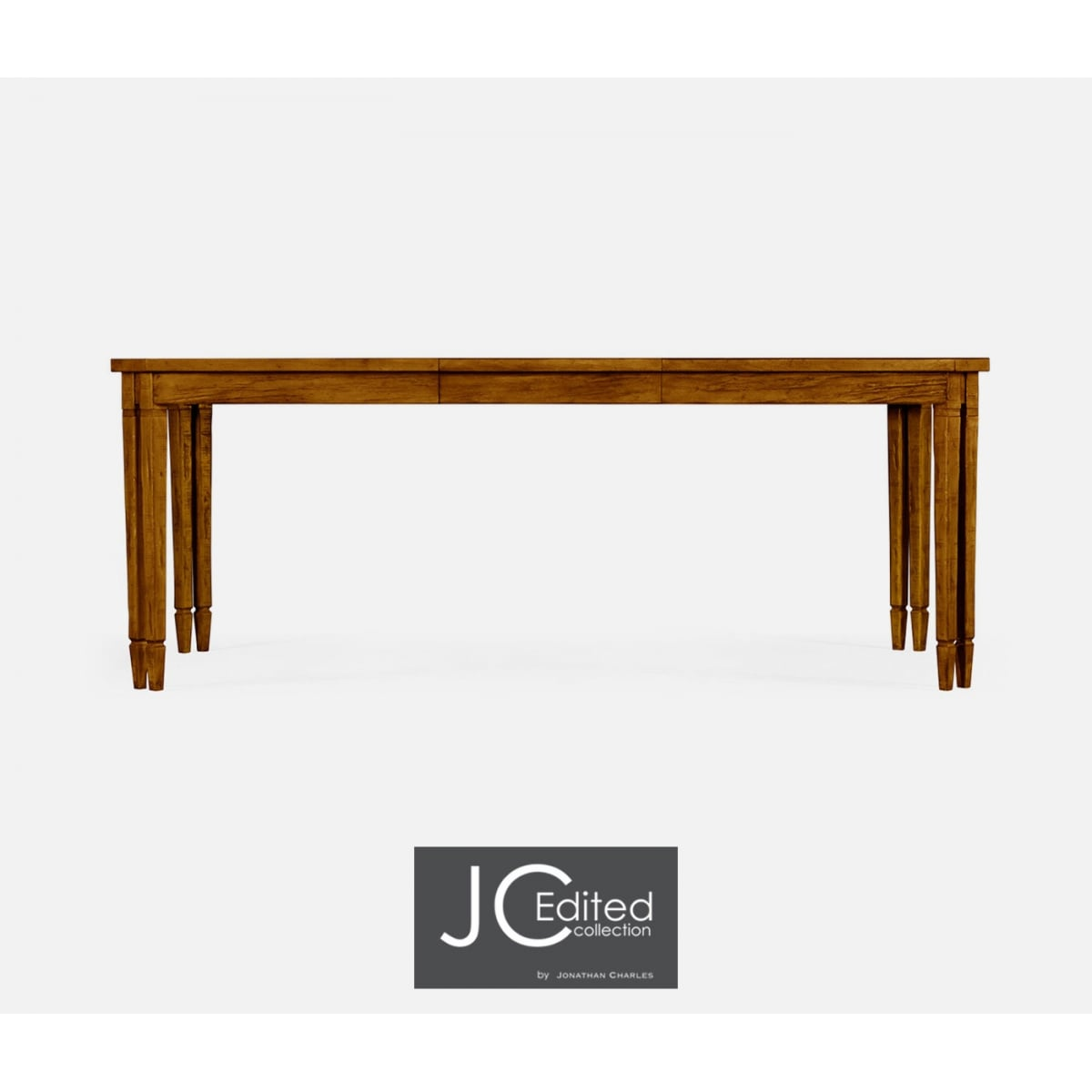 Walnut Extending Dining Table 8 Seater Swanky Interiors