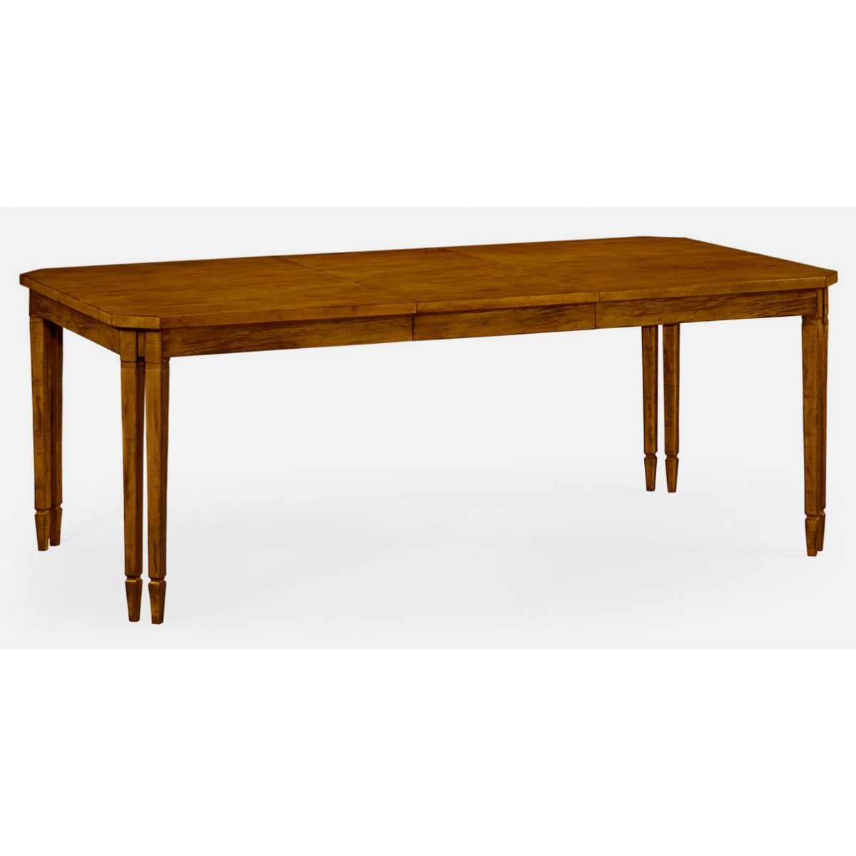 Walnut extending dining table 8 seater swanky interiors for 8 seater dining table