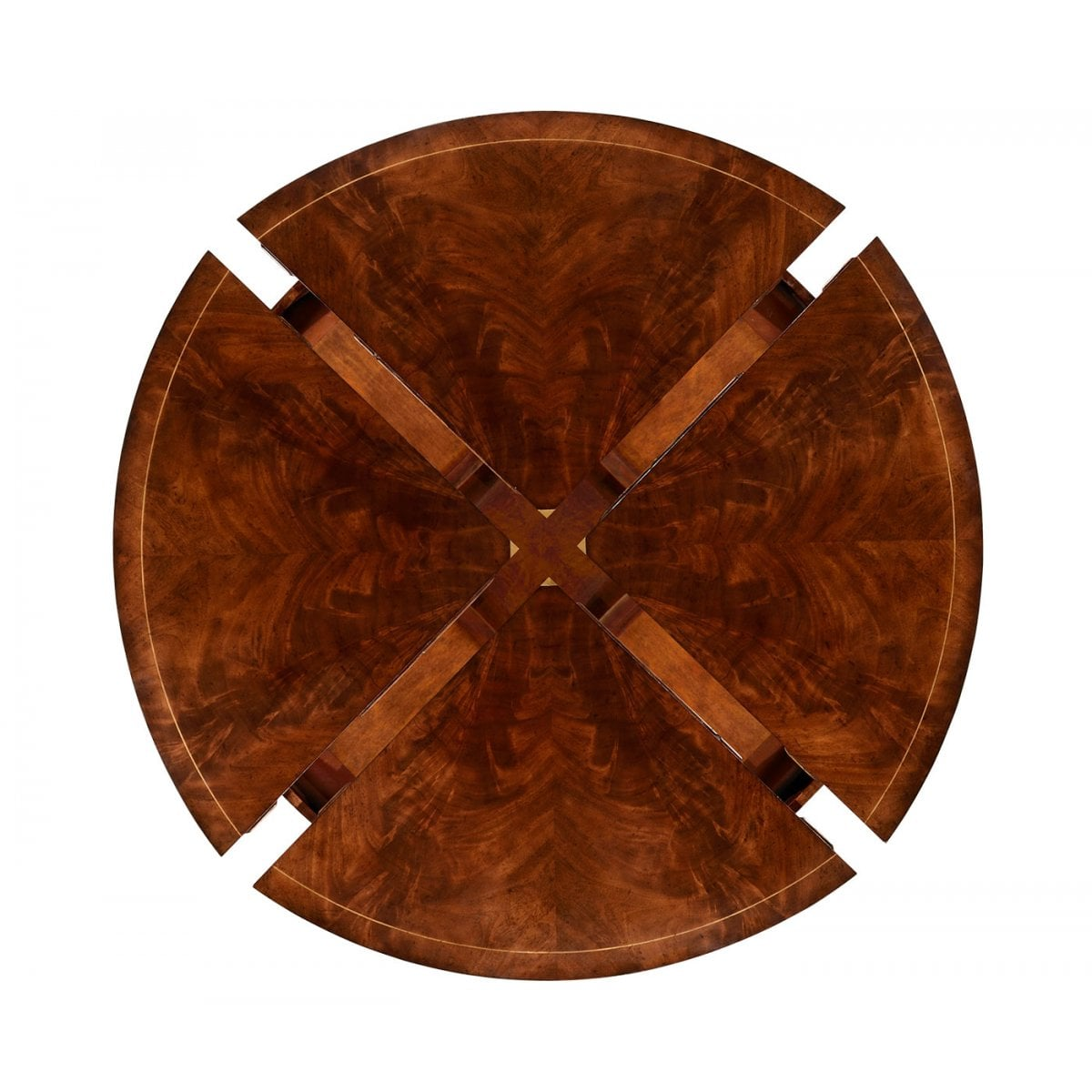 Round Dining Tables For 10: 8-10 Seater Round Extending Dining Table