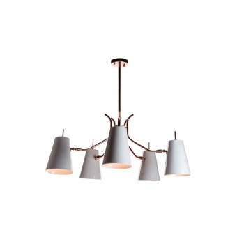 Villa Lumi Lighting Designer Ceiling Light Ray, Copper