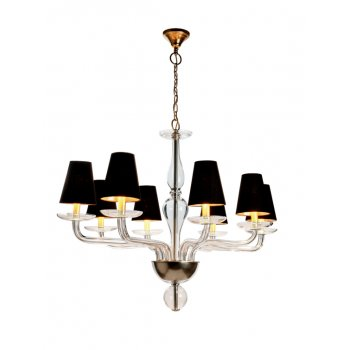 Villa Lumi Lighting Oval Shaded Chandelier Lisbon to Athens