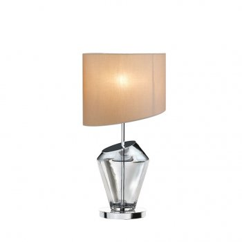 Villa Lumi Lighting Glass Table Lamp Ella B