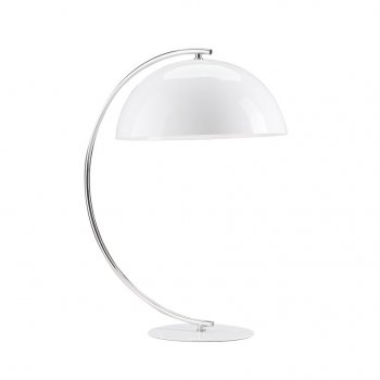 Villa Lumi Lighting Modern White Table Lamp Joe