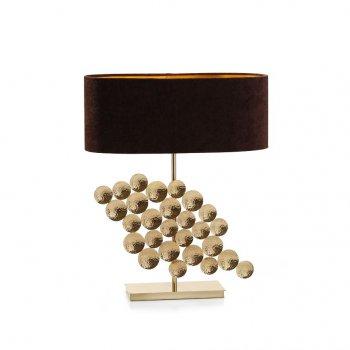 Villa Lumi Lighting Brass Modern Table Lamp Ethnic