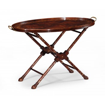 Jonathan Charles Furniture Mahogany Tray Table/Butler Tray