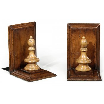 Jonathan Charles Furniture Bishop Chess Bookends