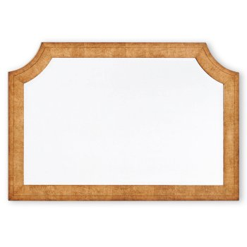 Jonathan Charles Furniture Elegant Wooden Overmantle Mirror