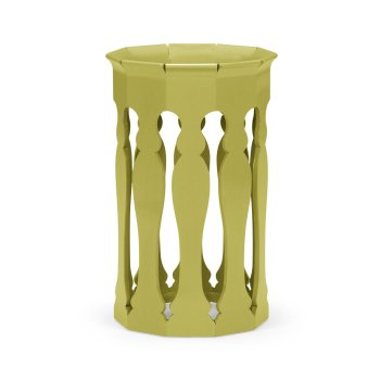 Jonathan Charles Furniture Moroccan Side Table, Lime
