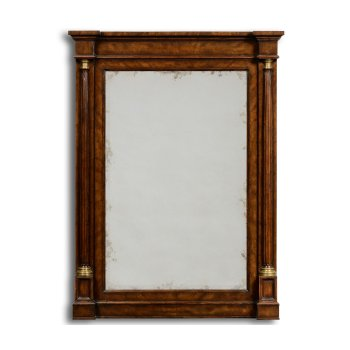 Jonathan Charles Furniture Rectangle Mirror With Columns