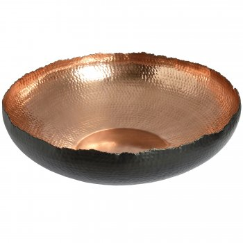 "Large Copper Fruit Bowl, 18""(46cm)/Gift for Her"