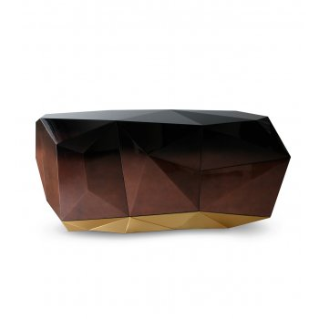 Boca Do Lobo Furniture Luxury Sideboard/Limited Edition Diamond Chocolate Sideboard