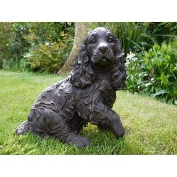 Cocker Spaniel Ornament/Dog Statue