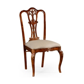 Jonathan Charles Furniture Mahogany Dining Side Chair