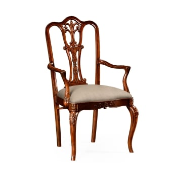 Jonathan Charles Furniture Mahogany Dining Chair/Armchair