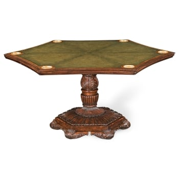 Jonathan Charles Furniture Reversible Dining And Games Table