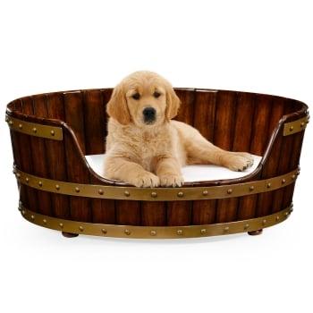 Jonathan Charles Furniture Luxury Dog Bed, Medium Size 32''