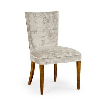 Jonathan Charles Furniture Luxury Upholstered Dining Chair, Calico