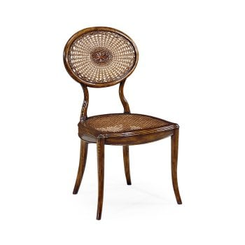 Jonathan Charles Furniture Elegant French Cane Dining Chair