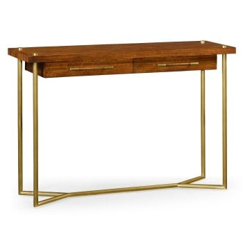 Jonathan Charles Furniture Mid-Century Hyedua Console Table