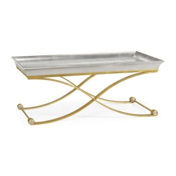 Jonathan Charles Furniture Luxury Tray Style Coffee Table Eglomise